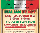 Italian Feast Save The Date