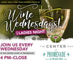 Wine Wednesday Ladies Night at The Center Bar