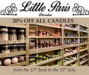 Little Paris Candles
