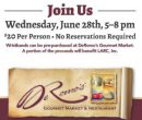 DeRomo's Gourmet Market & Restaurant Summer Wine Showcase