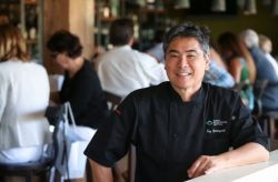 Celebrity chef Roy Yamaguchi (the Roy in Roy's Bonita Springs )