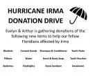 Hurricane Irma Donation Drive