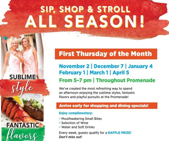 Holiday Wish List Sip & Shop Event