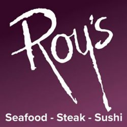 Roy's Restaurant – Open Easter Sunday from 9 am to 3 p.m. for brunch Open 3 to 9 p.m. for dinner.