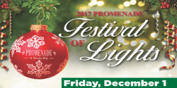 Promenade Annual Holiday Festival of Lights / Tree Lighting with <b>Santa</b>
