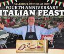 Deromos fourth annual Italian Feast