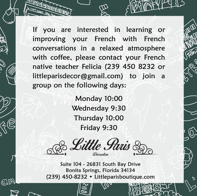 Little Paris – Let's Speak French