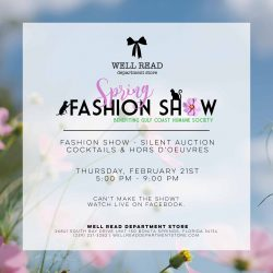 Well Read Spring Fashion Show