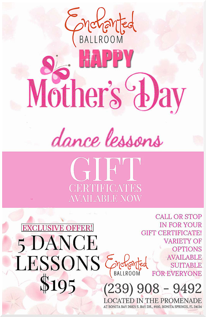 Enchanted Ballroom Mothers' Day Special