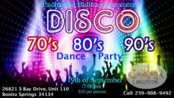 Enchanted Ballroom's Disco Dance Party