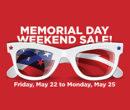 Memorial Weekend Sale